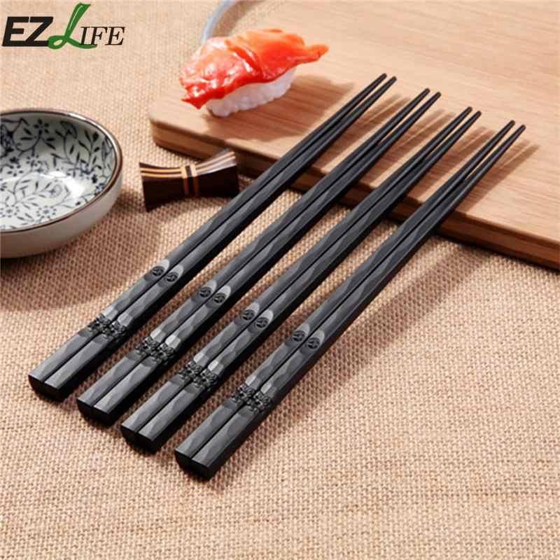 EZLIFE японские палочки для еды Сакура резные Стиль суши Еда палочки для еды деревянные японские палочки для еды CF0008