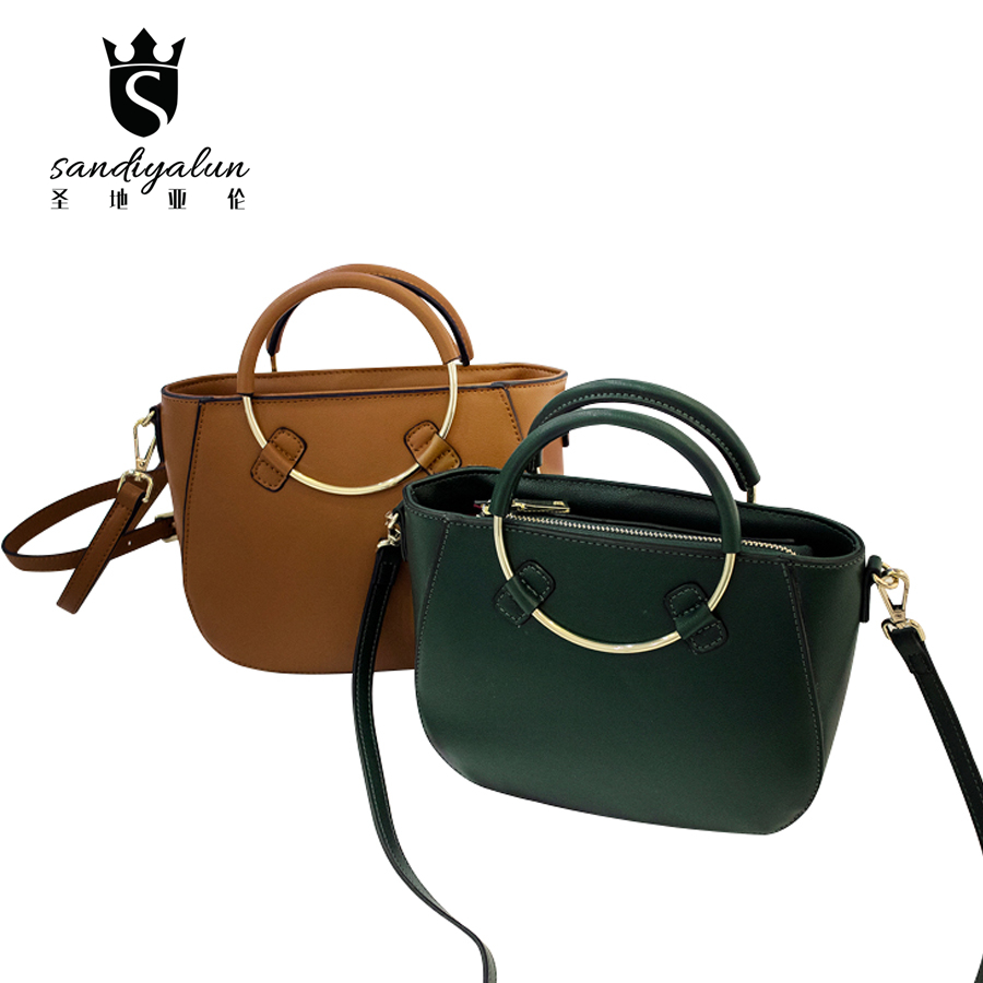 Brand Designer Lady Cowhide Genuine Leather Bags For Women Messenger Crocodile Bags Womens Ring Handbags Female 2017 new female genuine leather handbags first layer of cowhide fashion simple women shoulder messenger bags bucket bags