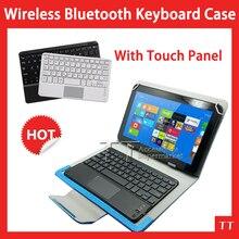 Universal Wireless Bluetooth Keyboard Case Universa Bluetooth Keyboard with touchpad Case for Chuwi HI10 10.1″Tablet + 2 gifts
