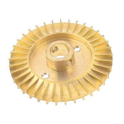 قطع غيار المضخة المائية Solt حفرة مزدوجة الجانب دفاعة من النحاس الأصفر عجلة 68 مللي متر ضياء