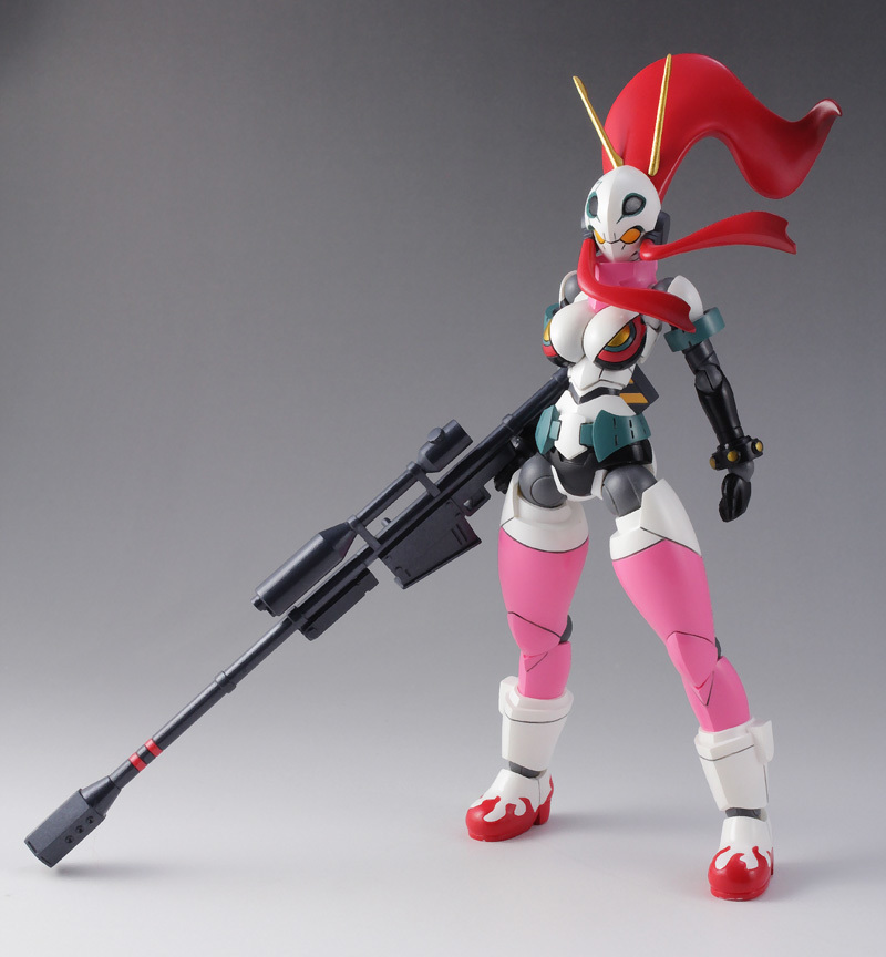 Garage Resin Figure Gurren Lagann Yoko Action Figure with Joints Model Kit