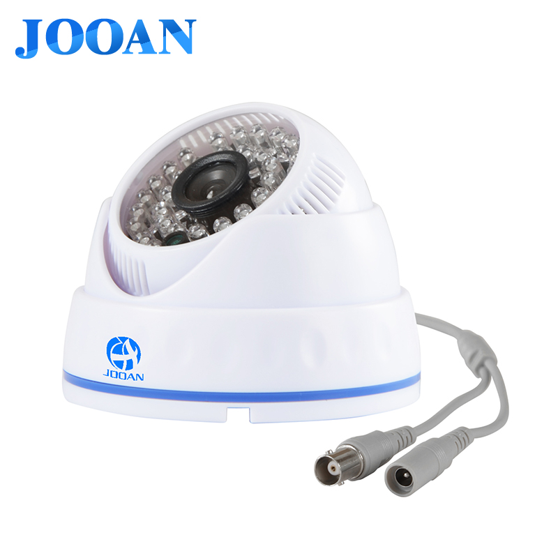 CCTV Camera 1/3 Color CMOS Real 700TVL High Resolution Mini Camera 36 LED Nightvison Indoor Dome Camera Analog Security Camera new type best price 1 2 7 color cmos real 1200tvl high resolution ir indoor mini dome camera cctv camera free shipping
