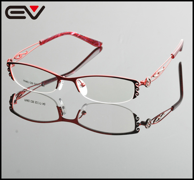 ac1549e4ceb0 2015 Acetate Temple Myopia Optical eyeglasses New Design Metal Alloy Frame  glasses Frame Women Unisex Eyewear