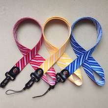 Twill Mobile Phone Straps Lanyard for key ID Card Neck Strap USB badge holder Hang Rope Anti-fall