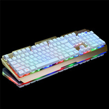 Colourful Rainbow Backlit Waterproof USB Wired Gaming Pc PC Sport Keyboard Free Delivery H5T4