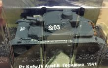 World War II Germany 1941 IV Tank 4 E 1/72 Scale