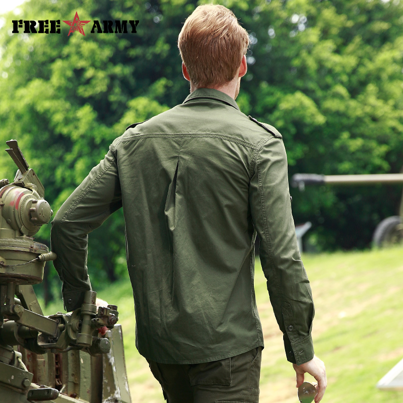 ARMY High Quality Basic Shirts  2