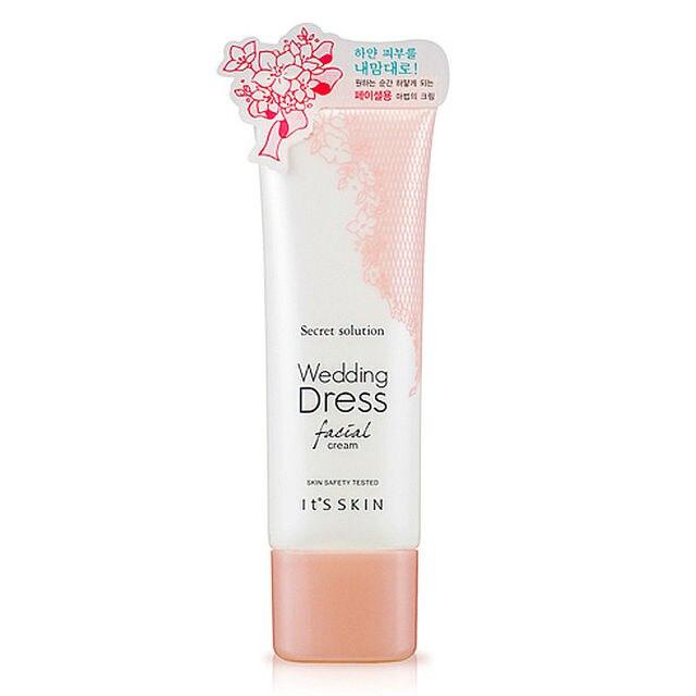 IT'S SKIN Secret Solution Wedding Dress Facial Cream Hydrating Whitening Day Creams Skin Care Brighten Antioxidant Face Cream