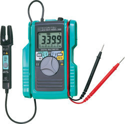 KYORITSU 2001 Digital Multimeter with AC/DC Open Clamp Sensor  up to 100A  цены