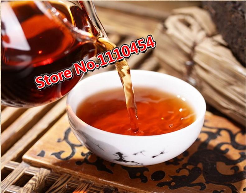 Ripe Pu'er 250g Chinese Ancient Tree Pu-erh Tea Puer Tea Brick 1980 Year Shu Pu-erh Yunnan pu erh Tea Pu Er Cha
