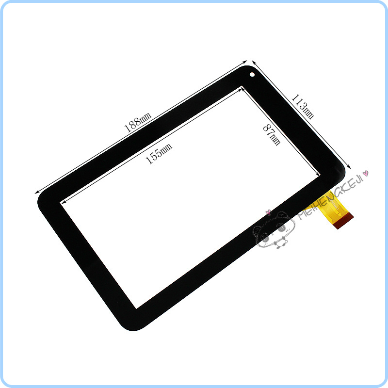Black 7 inch touch screen Digitizer For WEXLER TAB A720 tablet PC Free Shipping new 7 inch touch screen digitizer for for acer iconia tab a110 tablet pc free shipping