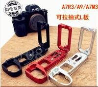 Placa L de liberación rápida/soporte agarre de mano en forma de L para Sony A9 A7R3 A7M3 A7 RIII/A7III/A7MIII A9 a7r3 a7r iii