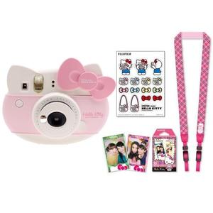 Image 3 - Fujifilm Instax Mini 8 Hallo Kitty Limited Edition Instant Foto Film Kamera + 10 Blatt Kitty Filme + Aufkleber + riemen box Set