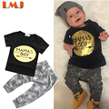 Autumn T shirts + Trousers 1-3Yrs Baby Boys Clothes New 2016 Children Clothing Sets Fashion Baby Clothes Children Clothing Sets