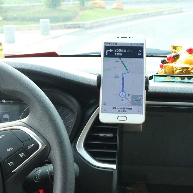 Universal Mobile Car Phone Holder For Phone in Car Holder Windshield Cell Stand Support Smartphone Voiture Suporte Porta Celular 6