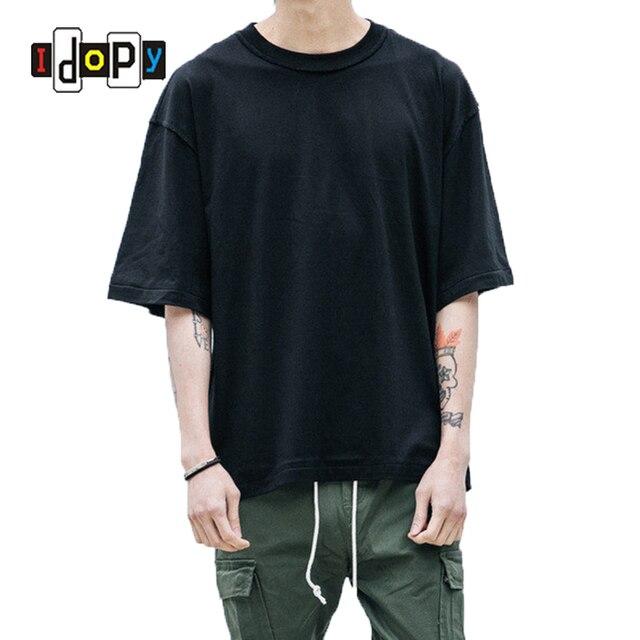 Prezzo all ingrosso di Grandi Dimensioni T Shirt Homme Vestiti T-Shirt Hip  Hop bc5ef38cdb97