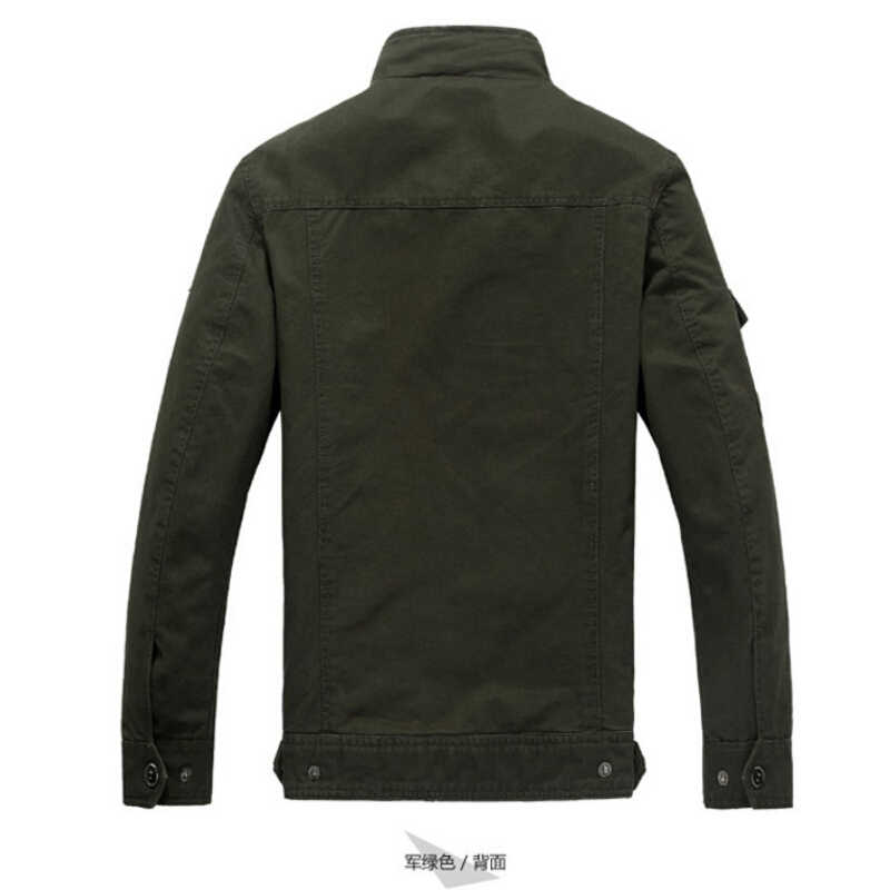 7c51527d25b ... Men s jackets Autumn And Winter Men bomber jacket Military Aviation embroidery  Large size air force one ...