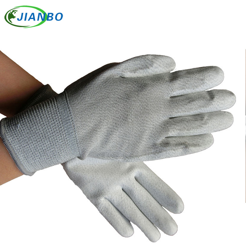 Free Shipping 10 Pairs Anti Static ESD Safe Antistatic Gloves Electronic Industrial Working Gloves For Finger Protection carbon fiber antistatic brush remove static electricity 1460x1400mm