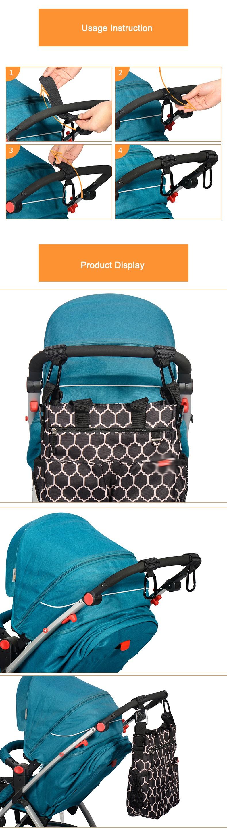 New-Stroller-Hanger-Hooks-Clips-Carabiner-Hook-for-Diaper-Bag-Hangs-on-Pushchair-Stroller-Pram-Buggy-Baby-Accessories-2-pcs-set-06