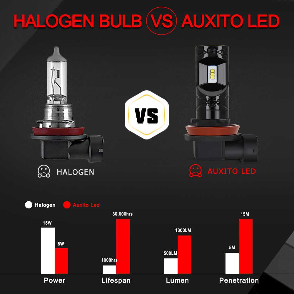 2x H8 H11 LED bulb Car LED Fog Light 9005 HB3 9006 HB4 H16 Led CSP Chip  Bulbs DRL for Mercedes Benz w212 w124 w210 w203 w204 AMG