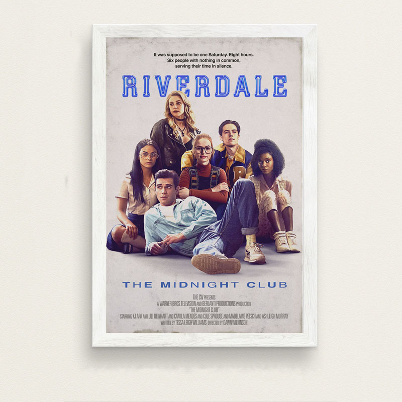 US $2 9 32% OFF|Art Painting Riverdale Season 3 Hot TV Series Show Pop  Movie Anime Poster And Prints Wall Pictures For Living Room Home Decor-in