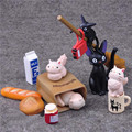 Miyazaki Hayao Kiki's Delivery Service PVC Action Figure Collectible Model Toy Retail Box Toys For Kids Cat/Broom Black 15cm