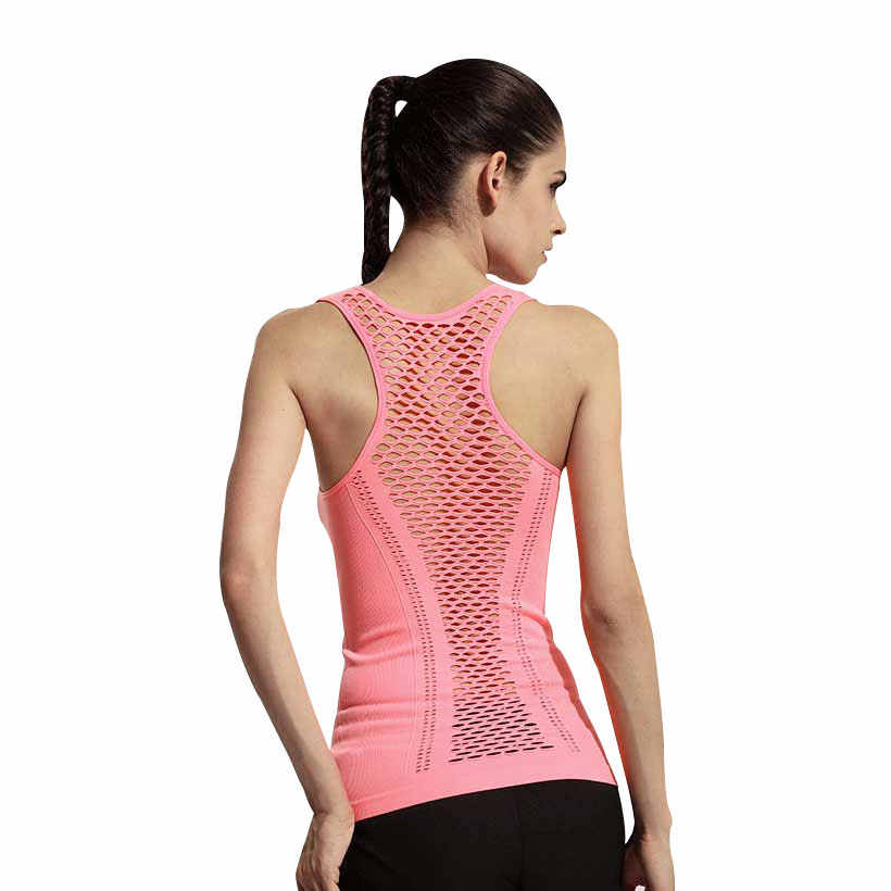 Quick Dry Running Sport Shirt Women Gym t shirt Fitness woman Dry fit Stretch Patchwork Slim Yoga Tops Jerseys Trainer