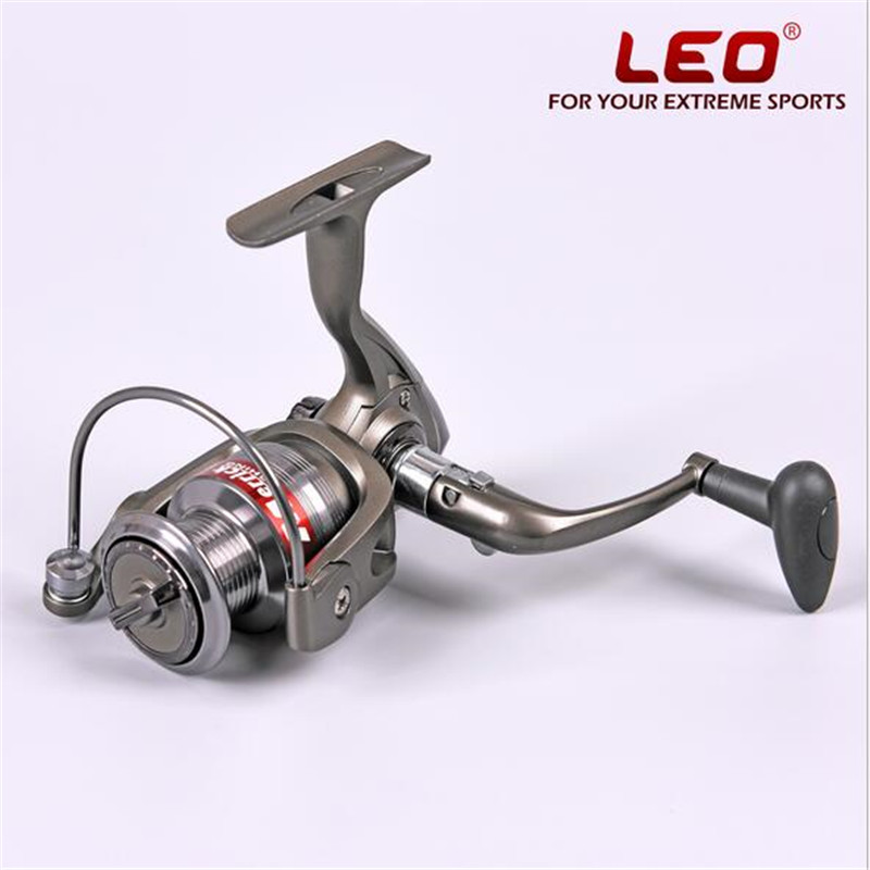 LEO MA1000-6000 Spinning Fishing Reel 12+1BB Gear Ratio 5.2:1 Exchangeable handle folding for casting line lake lure wheel