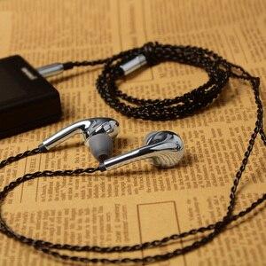 Image 5 - NICEHCK EP10 في الأذن سماعة ديناميكية محرك سماعة معدنية HIFI باس DJ مضخم الصوت سماعة رياضية رصد ياربود ميكروفون