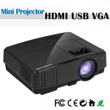 CAIWEI Portable LCD Home Theater Projector LED Proyector Multimedia Beamer Support HD 1080P Movie Video Game Party HDMI USB