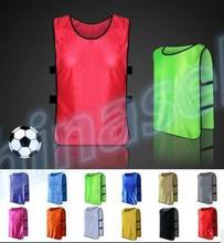 40pcs adult chlid soccer football basketball group against scrimmage vest combat training tank top lacrosse jerseys