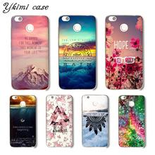 Ykimi case Beautiful landscape Coque For Xiaomi Redmi 5 plus 5a 6 pro 6a 4x 4a note 4 4x 5 pro 5a 6 case soft Silicone TPU
