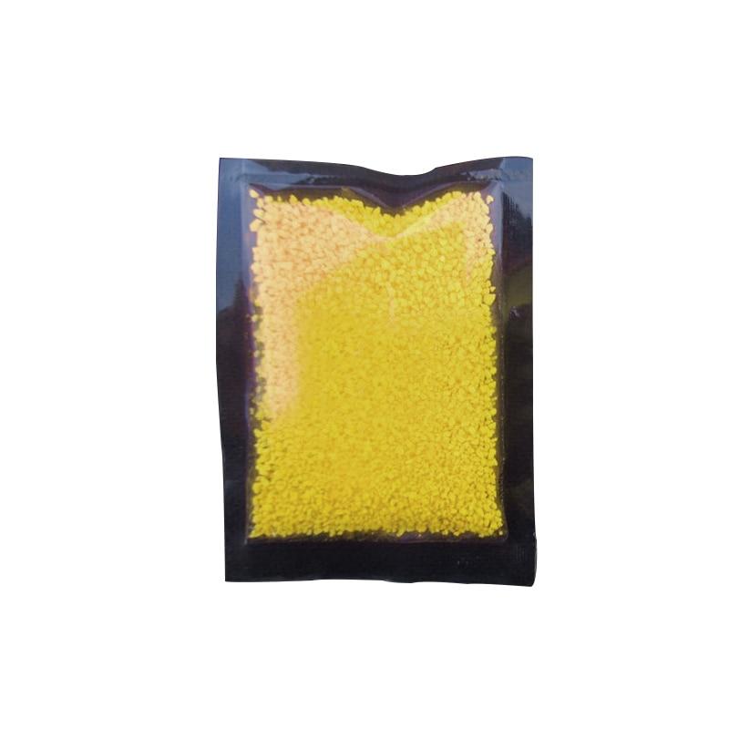 Hoomall Волшебная флуоресцентная светится в темноте светящиеся вечерние яркие краски звезда Желая бутылка частица светящийся песок подарки для детей - Цвет: yellow