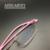 Vidrios de las mujeres de moda diseñador de la marca del borde inferior ultraligero anteojos recetados en línea 1624 pequeña niña niños nuevo