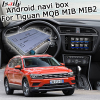 Android GPS navigation box for Volkswagen Tiguan 2017 etc MQB MIB MIB2 system 8 9.2 video interface box with Carplay by Lsailt