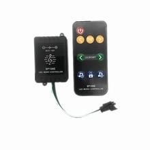 10 PCS SP106E 9keys LED Music Controller DC5V-12V WS2811 /WS2812B /6812 /6803 Magic LED tape digital colorful music controller цены онлайн