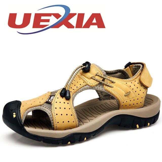 Плюс размер 46 Открытый спортивные сандалии мужские летние дышащие ботинки воды мужские повседневные пляжные сандалии мужская обувь Шлепанцы Zapatos