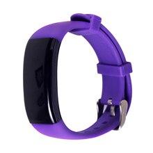 Scls D21 Фитнес трекер, Сенсорный экран точный сна Мониторы шагомер Smart Band Беспроводной деятельность Браслет (фиолетовый)