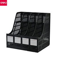 DELI HIPS High Quality Document Trays File Holder Magazine Racks Office Desk Organizer office supplies desk accessories