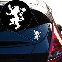Yoonek Graphics Game Of Thrones Lannister Decal Sticker for Car Window, Laptop and More # 920 (6 x 47, White)