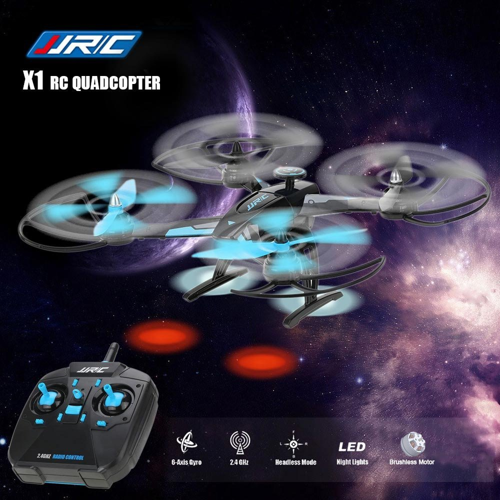 JJR/C JJRC X1 With Brushless Motor 2.4G 4CH 6-Axis Roll Flips Toys Gift RC Drones Quadcopter RTF jjrc x1 with brushless motor 2 4g 4ch 6 axis rc quadcopter rtf page 5