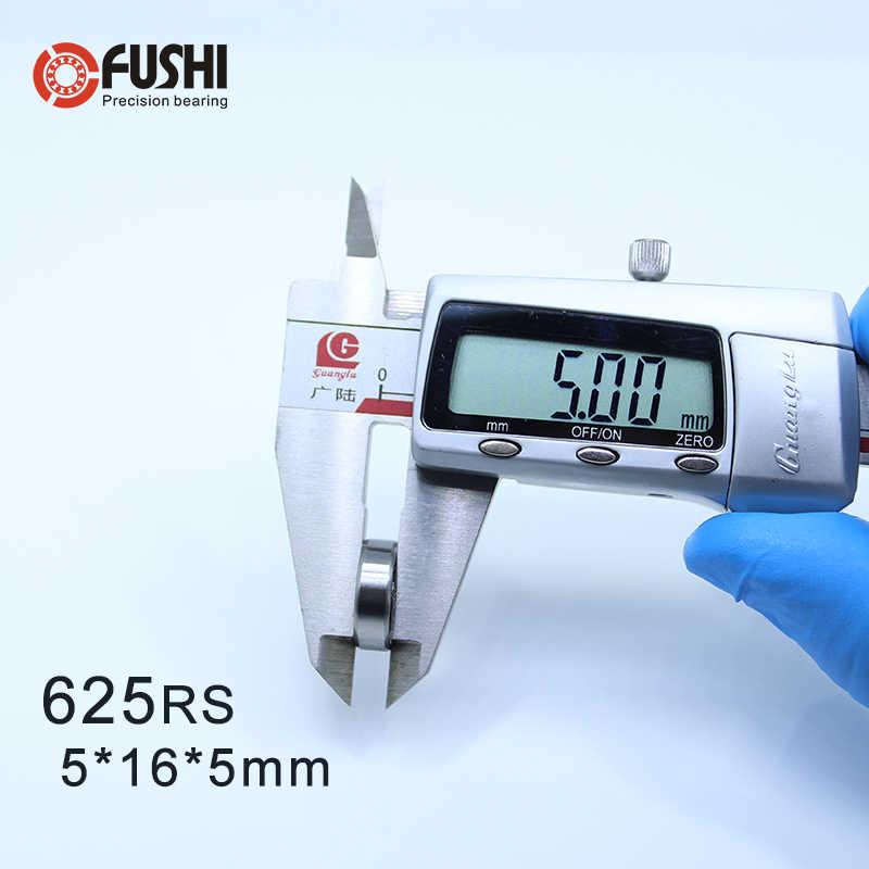 625RS Rolamento ABEC-5 (10 PCS) 5*16*5 milímetros 625-2RS Selado Rolamentos de Esferas Em Miniatura 625 2RS Para Mobius VORON 2/3 3D Impressora