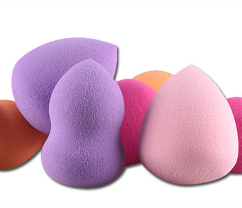 4pcs/pack High Quality Multi Shape Sponge Puff  Makeup Women Professional Blush Foundation Sponges Makeup recommend Praise Hot