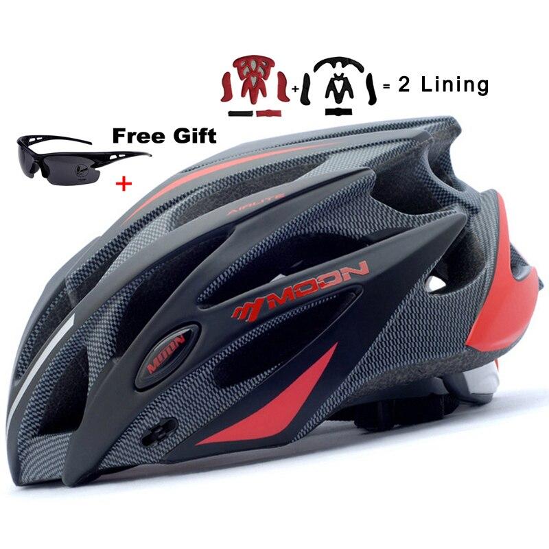 MOON Upgrade Version 2015 New Cycling Helmet 52-64 CM Bicycle Helmet Ultralight Bike Helmet Road Mountain Helmet велосипедный шлем bicycle helmet 2015 h5046 bc 102