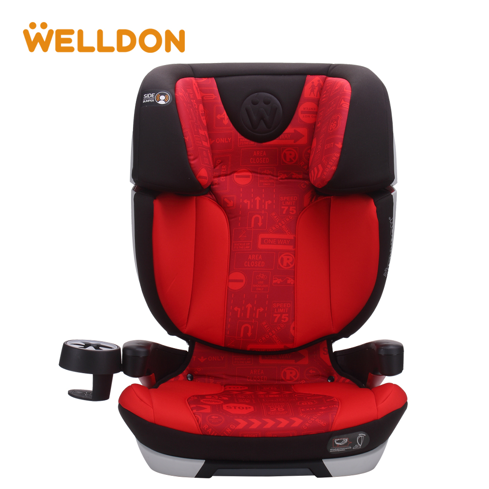 Welldon 3Y-12Y Baby Car Seat Child Safety Auto Chair Kids Protection Seat Baby Kids Car Safety Seats Chair four colors infant basket style safety car seat baby car seat portable child automotive safety seats kids outdoor handle cradle