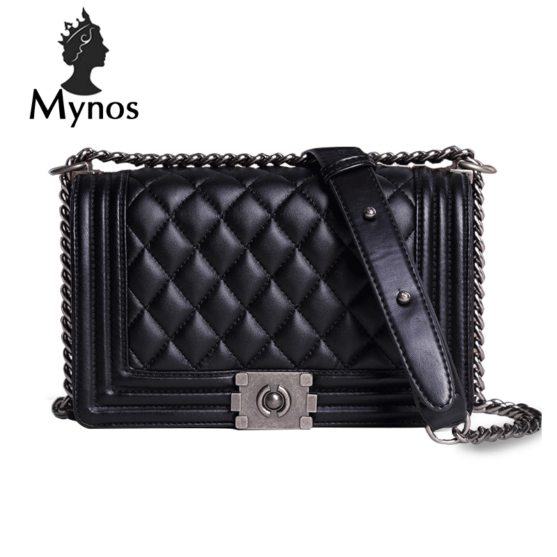 MYNOS Luxury Fashion Brand Designer Handbags Small Women Bags Ladies  Plaid Cover Big Crossbody Bags For Women SAC A MAIN Femme mynos luxury handbags women bag designer women messenger bags leather crossbody bags for women sac a main femme tote bag ladies