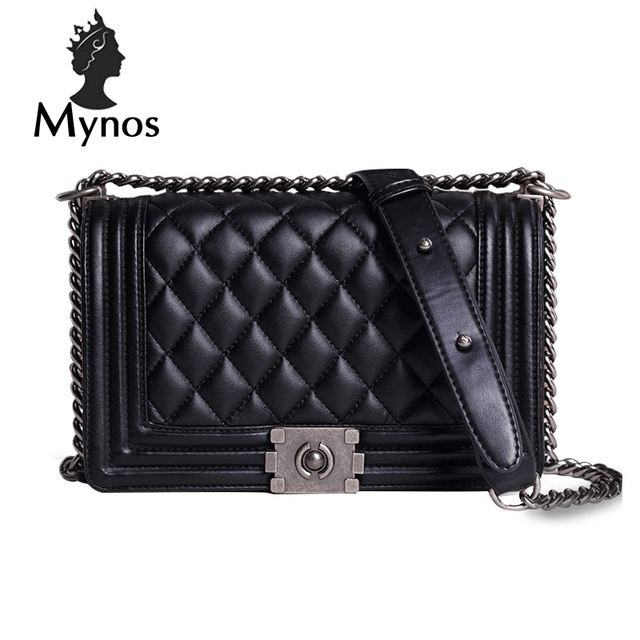 b760ce2078 MYNOS Luxury Fashion Brand Designer Handbags Small Women Bags Ladies Plaid  Cover Big Crossbody Bags For Women SAC A MAIN Femme