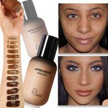 Основа для лица, крем, корректор, полное покрытие, матовая основа, профессиональный макияж, корректор тона кожи для темной кожи, для черных людей