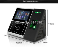 125K Card & Face Time Clock / Face + Fingerprint Time Attendance ZK Iface302 Fingerprint Time Clock Access Control Terminal