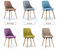 Из 2 предметов Бесплатная доставка съесть стул из твердой древесины стул. Современная и контракт отдыха стул. Ткань стулья.